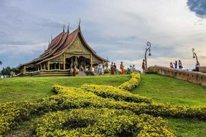 Thailand 2015- Wat Phu Prao temple in Ubon Ratchathani, Thailand photo