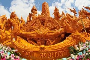 Thailand 2014- Candle wax Festival in Ubon Ratchathani, Thailand