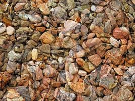 Close-up of stone or rock wall for background or texture photo