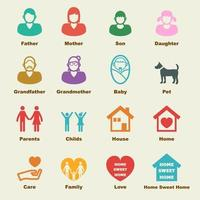 family vector elements