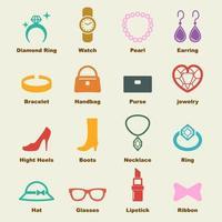 accessories vector elements