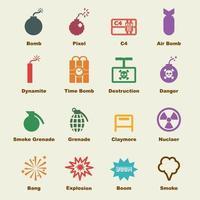 bomb vector elements