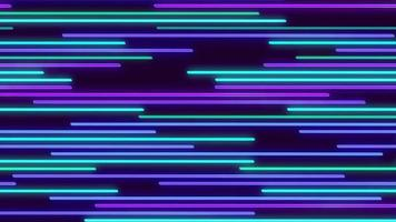 leuchtender mehrfarbiger Linienhintergrund video