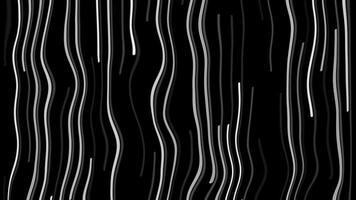 fluindo fundo de linhas brancas distorcidas video