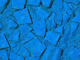 primer plano, de, azul, piedra, o, pared de roca, para, plano de fondo, o, textura foto