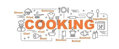 cooking vector banner
