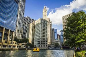 Chicago, Illinois 2016- Chicago River Cruise photo