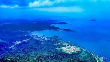 Aerial view of northeast corner of Taiwan photo