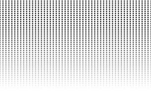 Vintage black and white polka dot pattern background. Design element for background, posters, cards, wallpapers, backdrops, panels - Vector illustration