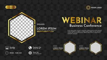 Abstract geometric background banner template