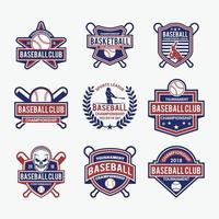 Baseball Badges and Logo Design Vector Template