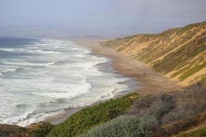 montana de oro en san luis obispo, california foto
