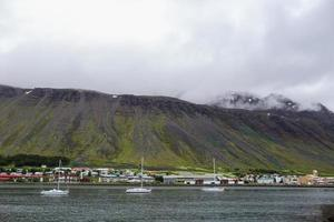 Port in Northern Iceland photo