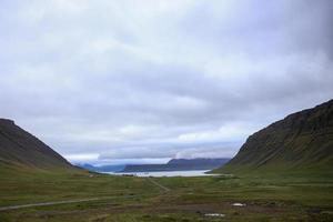 Fjords in Iceland photo