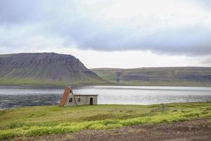 Shack on the Ring Road in Iceland photo