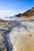 Sulfur hot springs in Grjotagja photo