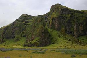 Epic mountains in Iceland photo