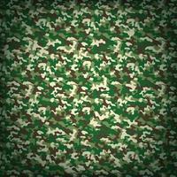 Fondo de vector de camuflaje verde militar