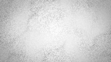 abstrato digital branco e cinza malha forma fx fundo loop video