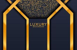 Geometric luxury gold metal background. Graphic design element for invitation, cover, background. vector