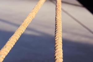 primer plano de la cuerda foto