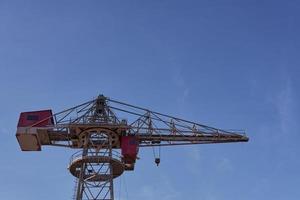 Crane in the sky photo