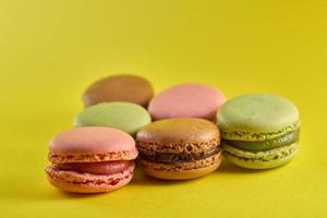 Group of macaroons photo