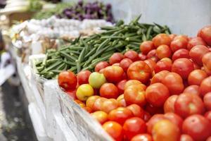 Group of fresh produce