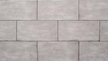 White ceramic brick tile, texture decorative photo
