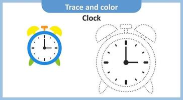 Trace and Color Clock vector