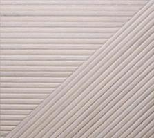 Pattern of lines in different directions in ceramic material photo