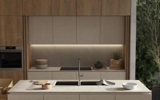 Scandinavian style kitchen photo