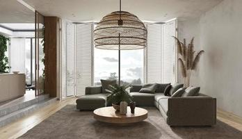 sala de estar moderna foto