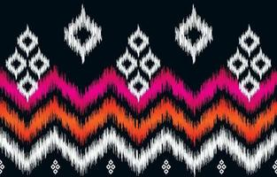 Diseño de fondo tradicional de patrón étnico oriental abstracto para papel tapiz, tela, textil, alfombra, batik. vector