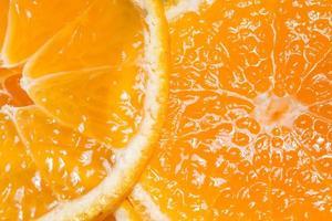 Close up of an orange fruit photo
