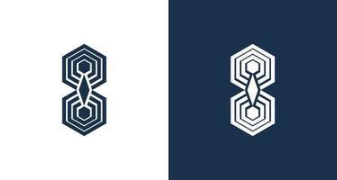 geometric spider logo set vector