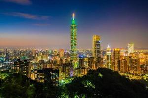 View of  Taipei city, Taiwan photo