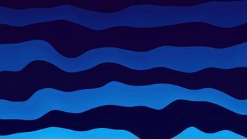 Fundo abstrato com listras onduladas de água azul fluindo