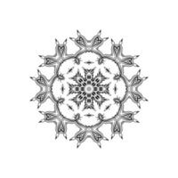 increíble diseño de mandala hermoso fondo vector