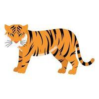 bengal tiger cartoon vector