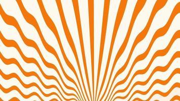padrão de linhas radiais distorcidas girando fundo