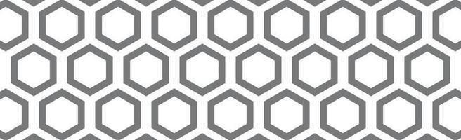hexágonos negros sobre un fondo blanco - vector