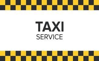 Abstract background in the style of a taxi - Vector