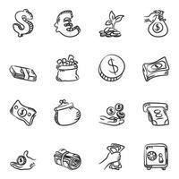 finanzas y comercio electrónico vector