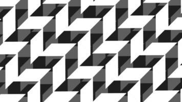 schuine dia zwart-witte patroonachtergrond video