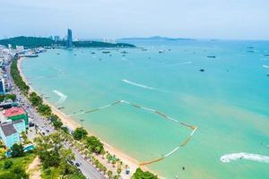 Pattaya city in Thailand photo