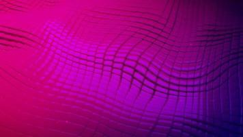 padrão de grade quadrada animado com um fundo de movimento de bandeira video