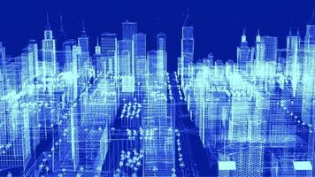 Big City Grid Structure Technology Background
