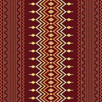 Ethnic Seamless pattern aztec tribal art fabric print, home decoration, wallpaper, cloth. vector