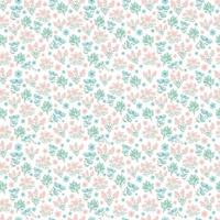 Spring, Summer flowers. cute floral pattern. Pretty small flowers on white background. Printing with small pink, purple, blue flowers. Ditsy print. Seamless vector texture. elegant template for fashionable printers.